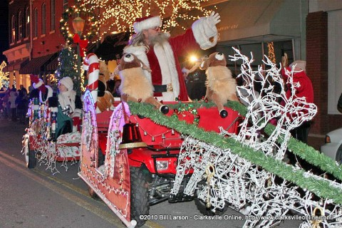 The 2010 Christmas Parade.
