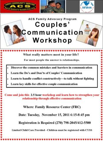 Couples' Communication Workshop