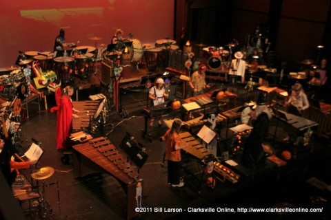The APSU Percussion Ensemble's 2011 Halloween Concert