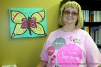 Lilly Lawhon, a 5 year Breast Cancer Survivor