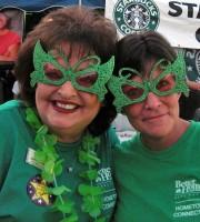 Kathy Sensing and Terri Vaughn