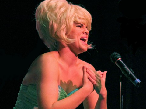 "Kendall Anne Thompson in ""Beehive: The '60s Musical Sensation""."