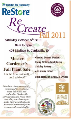 Habitat for Humanity ReStore Hosts First Annual 'ReCreate'