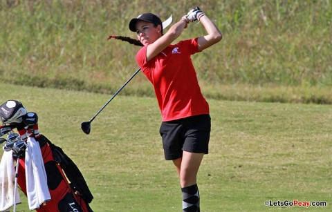 Freshman Marta Gutierrez will be one of the Lady Govs competing at the UAB Fall Beach Blast. APSU Golf. (Courtesy: Austin Peay Sports Information)