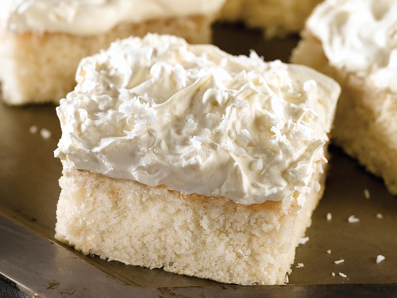 cream of coconut cake this one bowl cake is made
