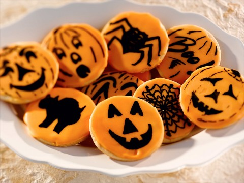 Halloween Cut Out Cookies