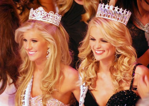Miss Tennessee USA, Ashley Durham, and Miss Tennessee Teen USA, Kaitlin White, will be handing over their crowns at next weekend's pageant.