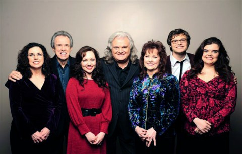 (L-R) Sharon White Skaggs, Buck White, Rachel Leftwich, Ricky Skaggs, Cheryl White, Luke Skaggs and Molly Skaggs. (Photo Credit: Erick Anderson)