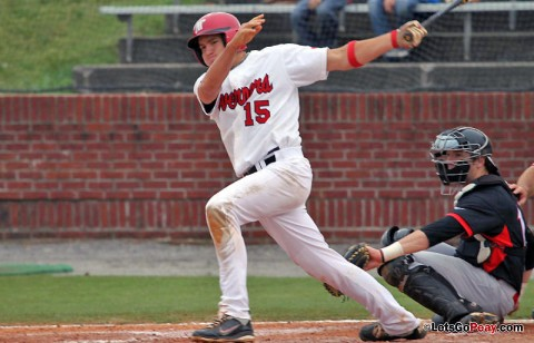 Junior Reed Harper led Team Black with a 4-for-4, two RBI outing, Saturday. APSU Baseball. (Courtesy: Austin Peay Sports Information)