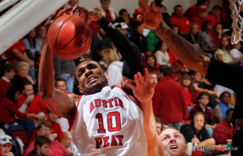 APSU Basketball. (APSU Sports Information)