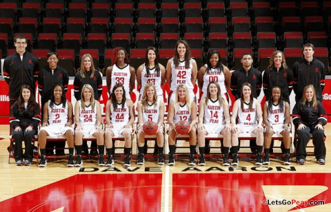 Austin Peay State University women's basketball team hosts Cumberland in its lone preseason exhibition contest, Monday. APSU Basketball. (Courtesy: Robert Smith/The Leaf-Chronicle)