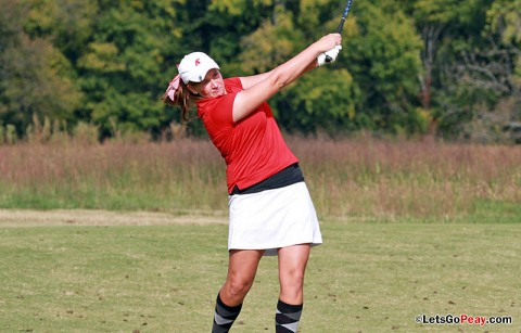 Sophomore Tala Mumford tied for 5th at the Belmont Invitational.  APSU Golf. (Courtesy: Austin Peay Sports Information)
