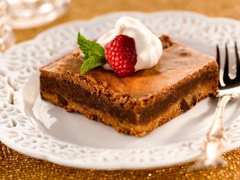 Chocolate Fudge Pie Bars