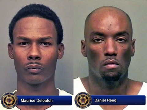Maurice Deloatch and Daniel Reed were arrested Thursday Night.