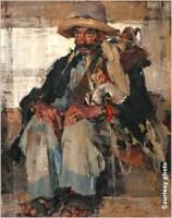 El Cargador, 1936, oil, accession number 1989.31.4, Nicolai Fechin, artist, National Cowboy & Western Heritage Museum, Oklahoma City, Oklahoma