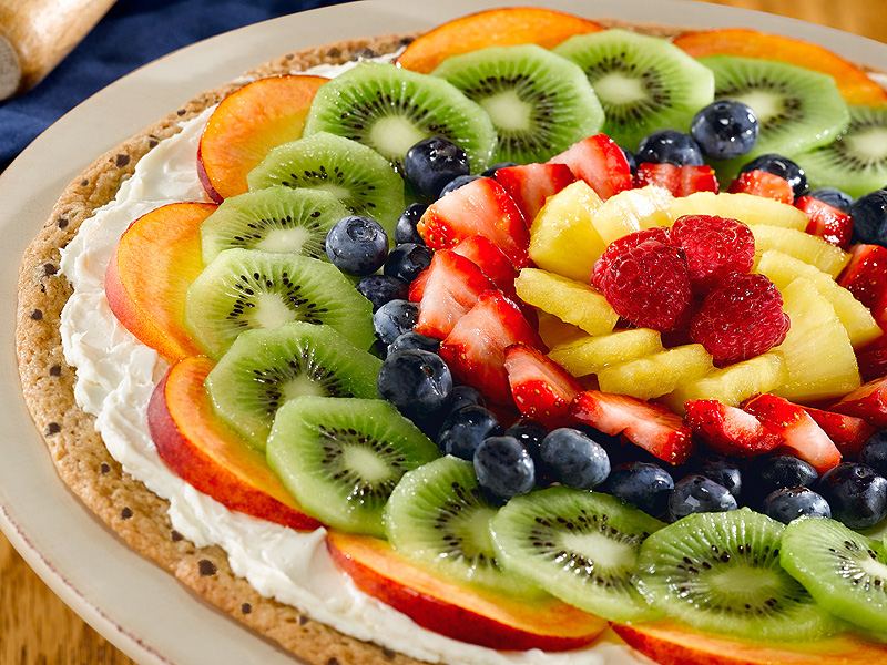 Fruit pizza recipe using cake mix