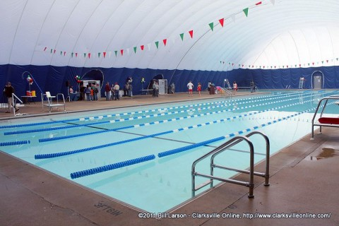 Register for November Swim Lessons at Clarksville's Indoor Aquatic Center.
