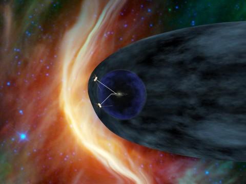 Voyagers in the Heliosheath