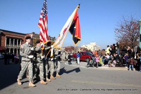 Veterans Day Parade 2011