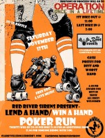 """Red River Sirens present """"Lend a Hand -- Win a Hand""""!"""