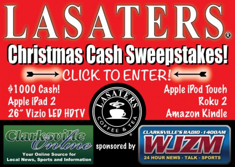 Lasaters Christmas Cash Sweepstakes
