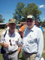 Ron Churchill (left), Mr.Tidwell (right) Taken at the 2008 TSU Small Farm Expo (Karla Kean)