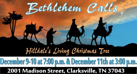 The Living Christmas Tree – Bethlehem Calls
