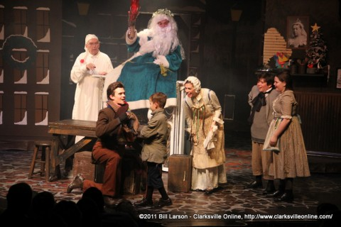 A Christmas Carol playing through Saturday at the Roxy.