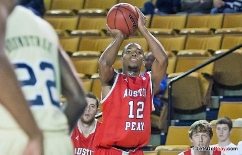 Austin Peay Men's Basketball. (Courtesy: William Powell)