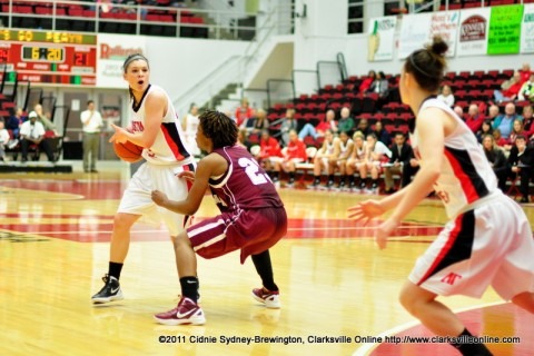 Austin Peay Lady Govs Basketball.