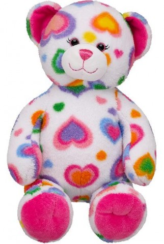 Colorful Hearts Teddy Bears Recalled Due to Choking Hazard