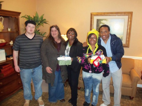 LEAP Youth Interns at the Dogwood Bend Assisted Living Center