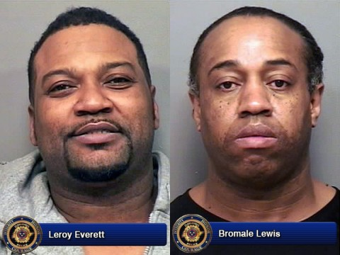 Leroy Everett and Bromale Lewis.