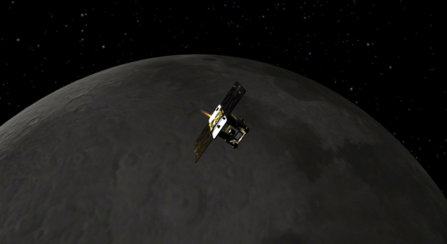 spacecraft in lunar orbit - photo #25