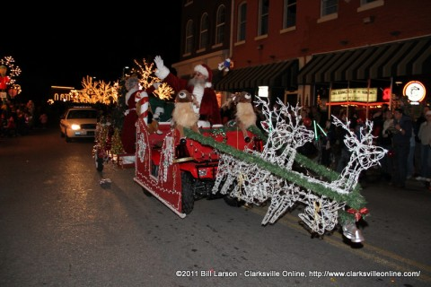 2011 Clarksville Christmas Parade