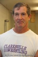Clarksville High Wrestling coach Jeff Jordan