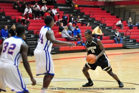 Kenwood High School lost to Hunters Lane High School Wednesday night
