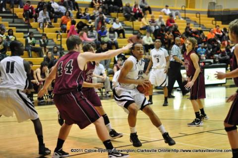 Kenwood High School Boys basketball defeats Cheatham County High School Monday night.