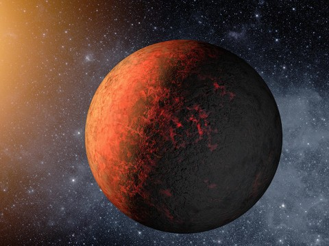 This artist's conception illustrates Kepler-20e. (Image credit: NASA/Ames/JPL-Caltech)