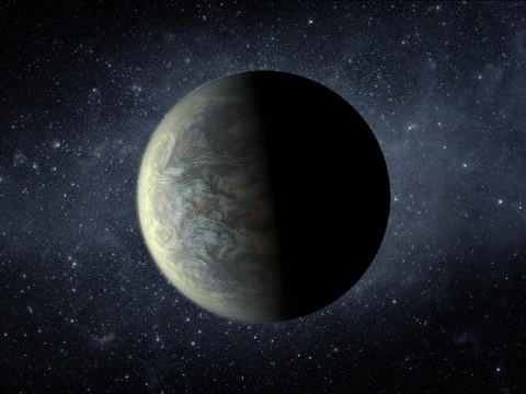 This artist's conception illustrates Kepler-20f. (Image credit: NASA/Ames/JPL-Caltech)