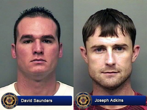 David Saunders and Joseph Adkins are wanted by the Clarksville Police Department.