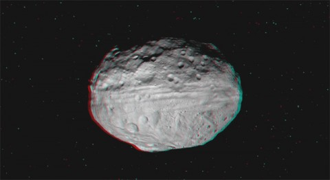 A still image from the 3-D video. (Image credit: NASA/JPL-Caltech/UCLA/MPS/DLR/IDA)