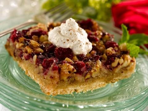 Winter Cranberry Tart