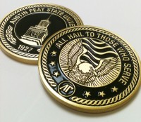 APSU's Military Coin.