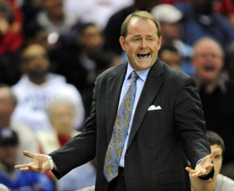 Middle Tennessee State coach Kermit Davis became the program's all-time winningest coach with the Blue Raiders' 71-66 win over Florida International on December 29th, 2011 in Murfreesboro, TN.