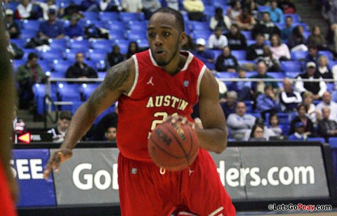 APSU Men's Basketball (Courtesy: Austin Peay Sports Information)
