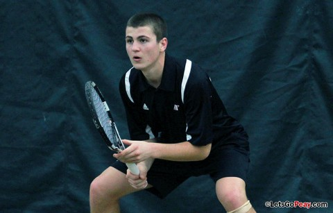 Austin Peay Men's Tennis. (Courtesy: Austin Peay Sports Information)