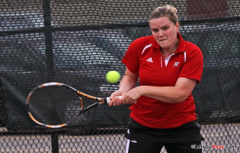 Austin Peay Women's Tennis. (Courtesy: Austin Peay Sports Information)