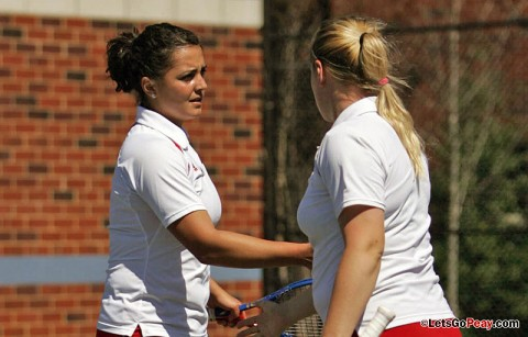 Austin Peay Women's Tennis. (Courtesy: Keith Dorris/Dorris Photography)