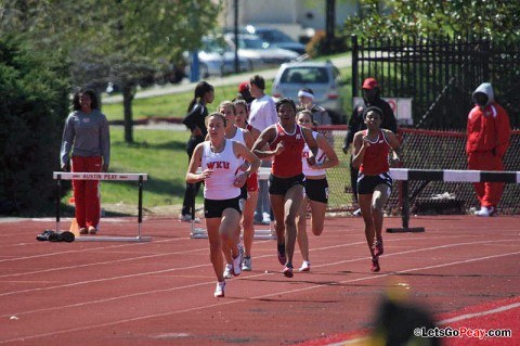 Lady Govs return from Christmas break for Ed Temple Classic. Austin Peay Track and Field. (Courtesy: Austin Peay Sports Information)